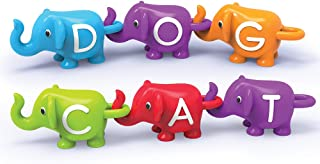 Learning Resources LER6710 Snap n Learn ABC Elephants Set (26 Piece),Multi-color