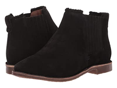 Seychelles Pool Cozy (Black Suede) Women