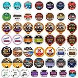 Crazy Cups Premium Bold Dark Roast Coffee Bulk Variety Pack, 50 Count (Pack of 50)