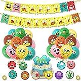 Globos temáticos de Bob Esponja, globos de fiesta para niños, globos de fiesta de personajes de dibujos animados, suministros de decoración de fiesta para fiesta de cumpleaños, carnaval o boda