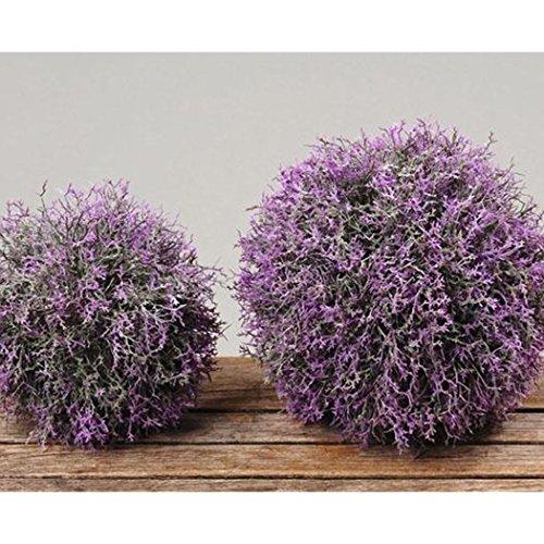 Boltze Lavendelkugel, Kunst-Lavendel, Lavendel Kunstpflanze, Blütenkugel, Ø 17 cm, 1 Stück