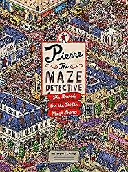 Image: Pierre the Maze Detective: The Search for the Stolen Maze Stone | Hardcover: 36 pages | by IC4DESIGN (Author), Hiro Kamigaki (Author). Publisher: Laurence King Publishing; Translation edition (September 1, 2015)
