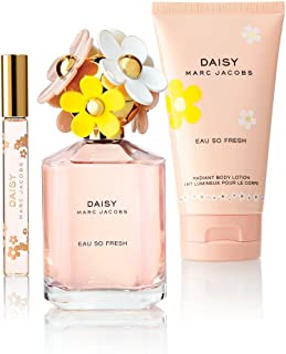 Marc Jacobs Daisy Eau So Fresh Set Regalo 125ml EDT + 150ml Lozione Corpo Illuminante + 10ml EDT
