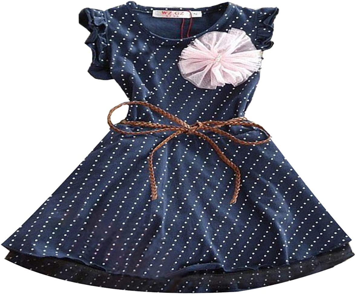 Lowest price challenge Chicago Mall AmyStylish Baby Little Girls A Breathable Summer Line Winter Cas
