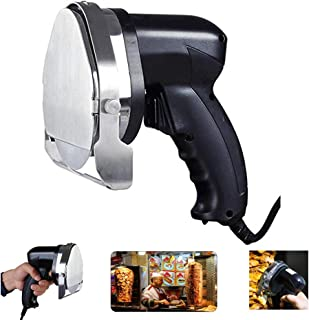 Commercial Electric Shawarma Doner Kebab Knife, Doner Kebab Knife, Gyro Cutter Kebab Slicer, Sliced Meat Gyros Knife (Round Blade)