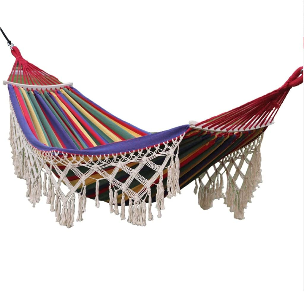 LYLY Backyard Limited Max 68% OFF price Hammock with Garden Tassels Anti-Rollover