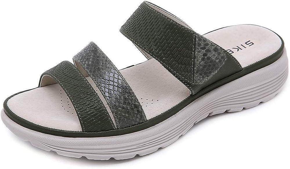 ZAPZEAL Women Sandals Wedge ☆国内最安値に挑戦☆ Platform Lightwe Flops Open 在庫一掃 Flip Toe