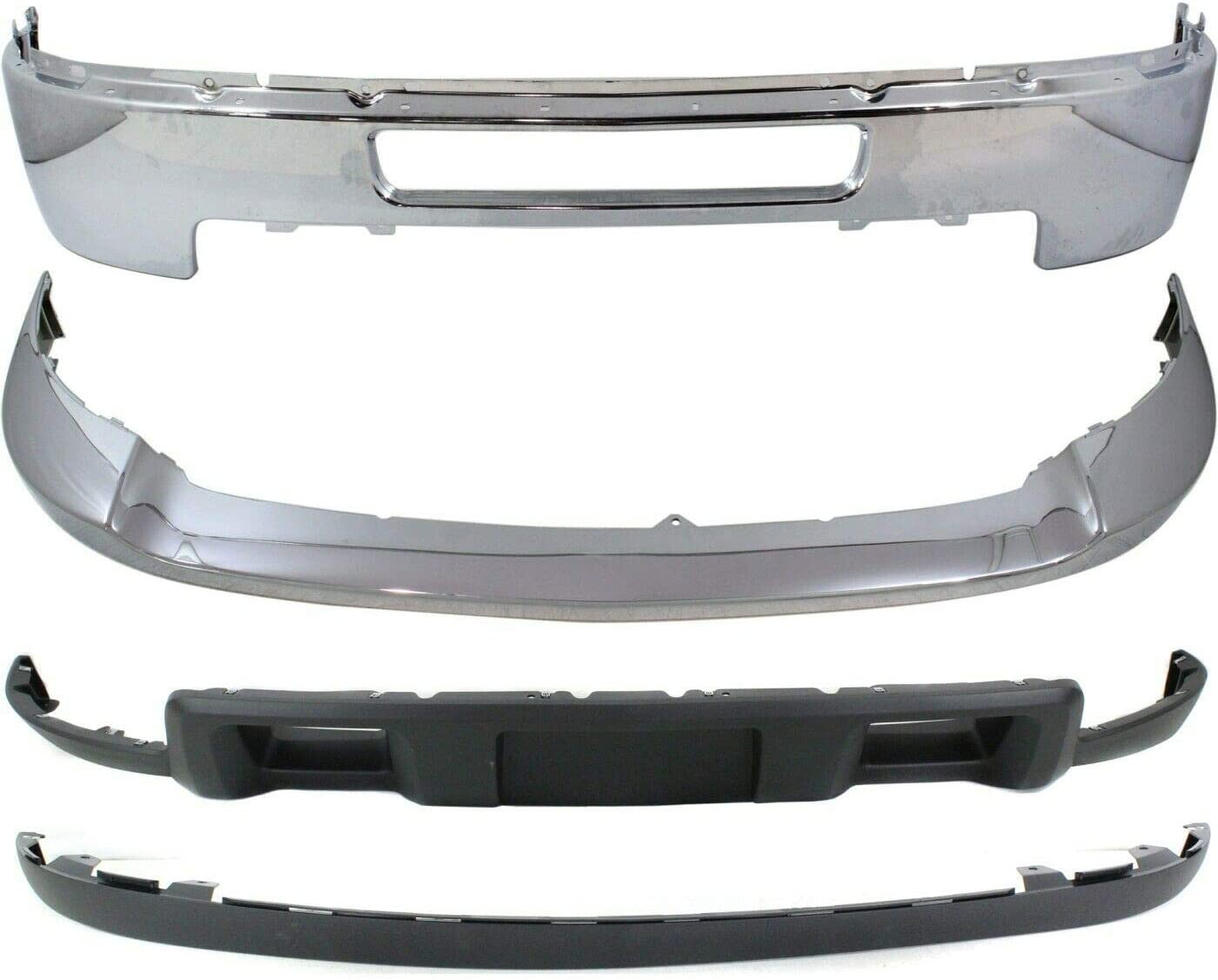 OLINDA Bumper Kit Compatible with 2500HD 2011-14 High quality new OFFicial store Silverado 2011-
