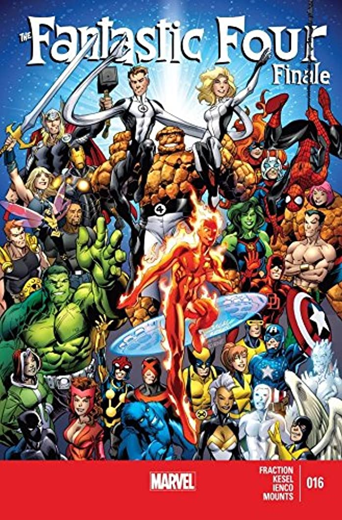 病気の破壊する平和的Fantastic Four (2012-2014) #16 (English Edition)