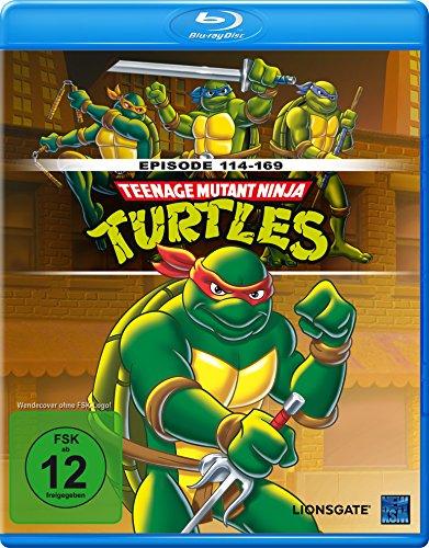 Teenage Mutant Ninja Turtles - Episoden 114 -169 [Blu-ray]