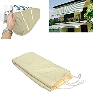 dDanke Protective Awning Cover Storage Bag with String for Outdoor Garden Sun Protection Dustproof Snow Proof 4m / 13.12ft...