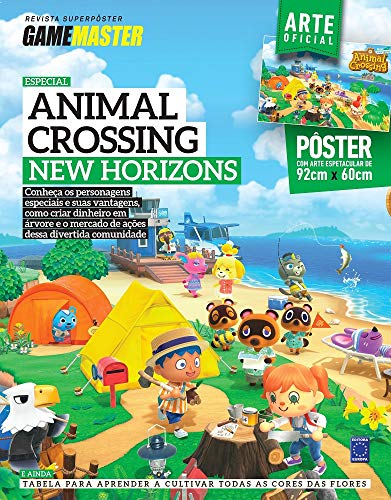 Superpôster Game Master - Animal Crossing New Horizons