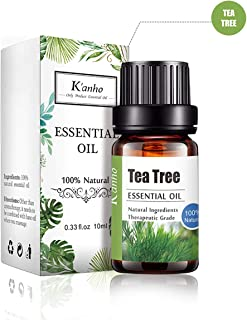 drdong-100% Pure and Natural Tea Tree Essential Oil, Aromatherapy, Massage, Diffuser, Humidifier, Hair and Skin Care