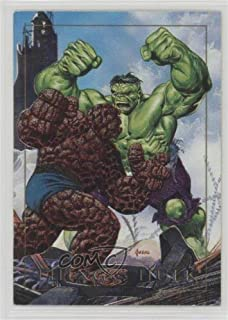 Hulk; Thing (Trading Card) 1992 SkyBox Marvel Masterpieces - Battle Spectra #1-D