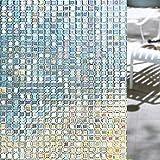 Shackcom 3D Vinilo Película de Ventana Privacidad Pegatina 90 * 200cm-sin Adhesivo-Decorativas para...
