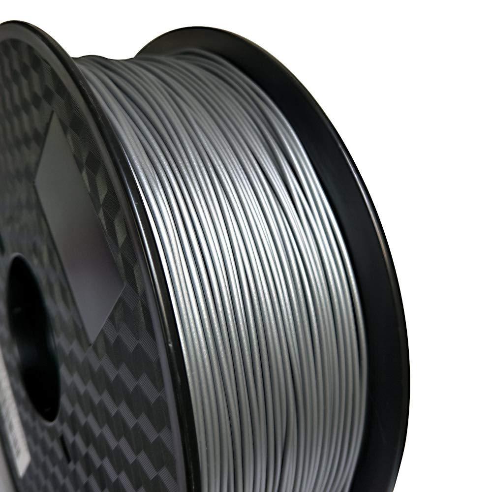 3D Printer Silver free New mail order PLA 1.75mm Filament Metallic Matte Silv