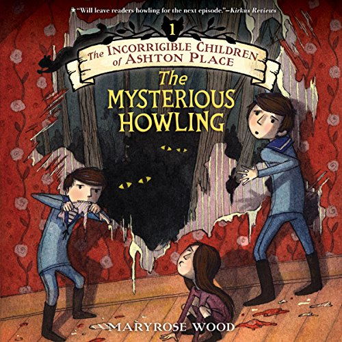 The Mysterious Howling audiobook cover art