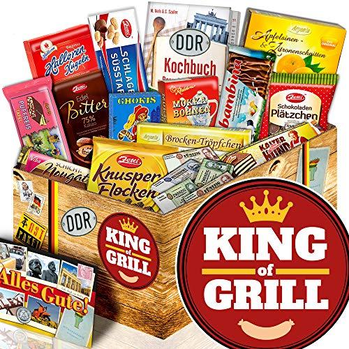 King of Grill / DDR Korb Schoko / Geschenke für Männer Grillen