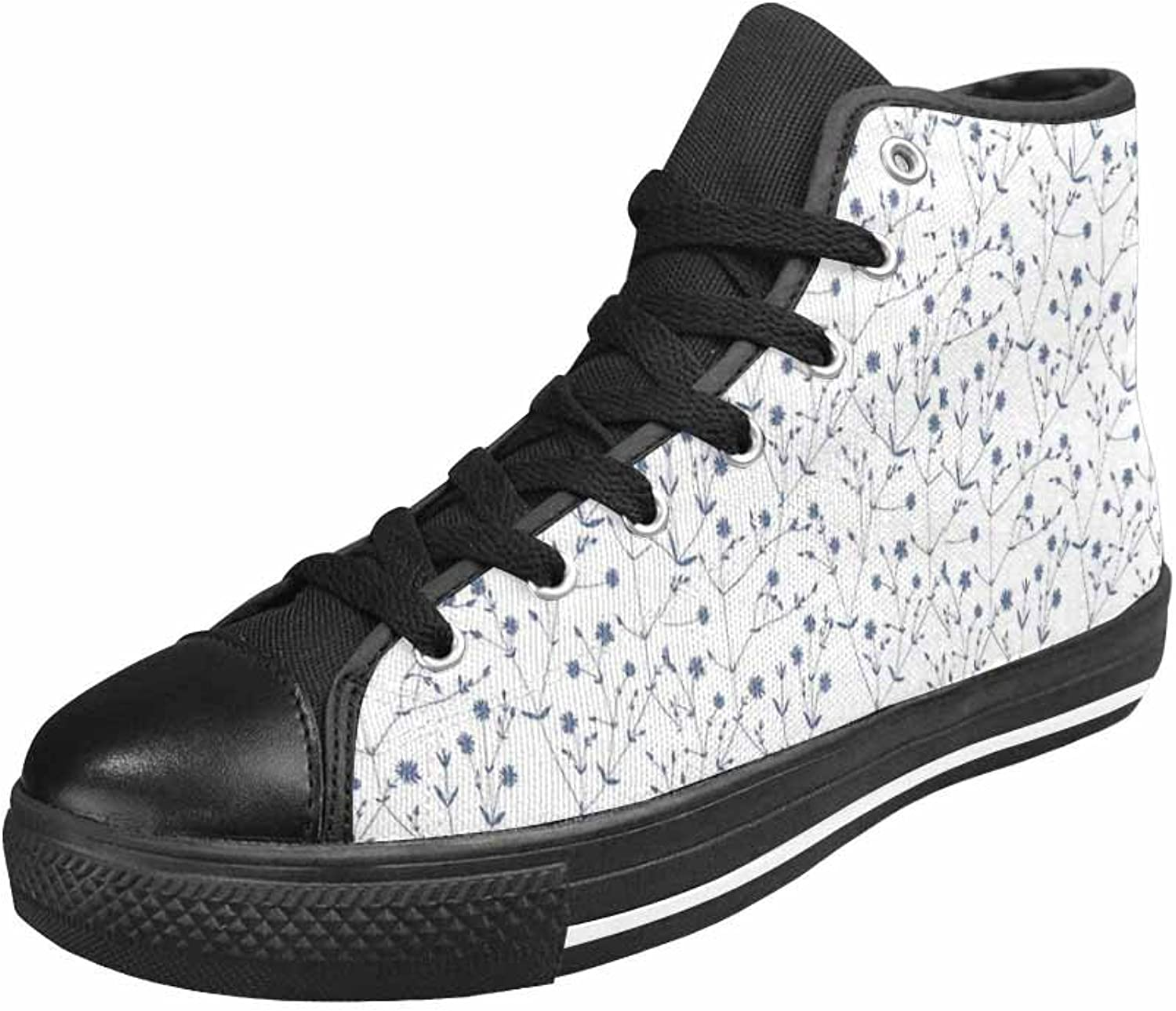 Women's Casual High Top Canvas Season Sneaker up Sports shoes