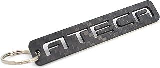 VmG Store ATECA Schlüsselanhänger aus Carbonfaser (CFK Carbon)