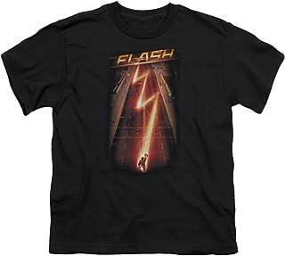 The Flash - Camiseta de Manga Corta - Manga Corta - para niño