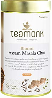 Sponsored Ad - Teamonk Assam Masala Chai Tea Loose Leaf (75 Cups) | Indian Masala Spice Chai Tea with 100% Natural Black T...