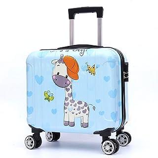 YCYHMYF Children's Trolley Case Cartoon Animal ABS Material Go Travel Board