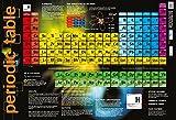 Poster, Periodensystem der Elemente, Physik, Wissenschaft, für Schulen / Hochschulen, 60 x 40 cm