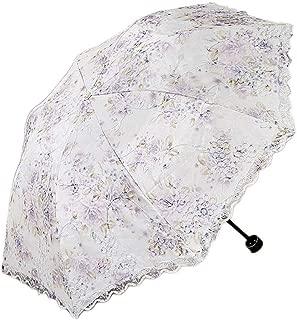 YQRYP Umbrella Sun Umbrella Umbrella Double Lace Umbrella Rain Dual-use Umbrella Sun Protection Umbrella UV Umbrella Folding Umbrella Windproof Umbrella, Golf Umbrella (Color : Blue)