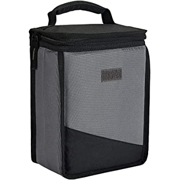 Lunch Bag, Reusable Insulated Lunch Box, Mini Portable Thermal Tote Bag for Office, School, Picnic