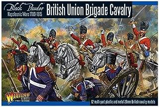 Black Powder British Union Brigade Cavalry Figures 18th & 19th Century Military Wargaming Plastic Model Kit
