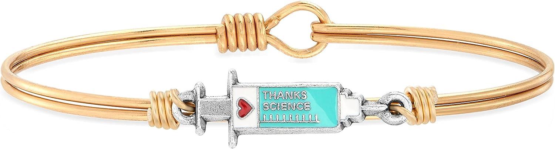 Luca + Danni | Thanks, Science Bangle Bracelet For Women Made in USA