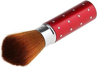 Abbraccia ロット2旅行Retraable Blush BrushesパウダーシャドウメイクアップBlurher Contour
