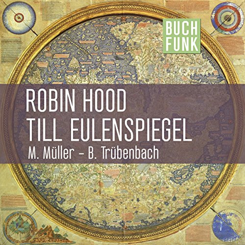 Robin Hood & Till Eulenspiegel audiobook cover art