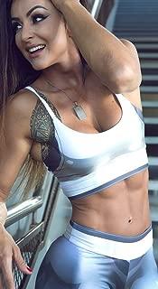 Dynamite Fitness Wear Brazilian Workout Top - Top Mercurio Print