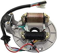 CNCMOTOK 2 Coil Ignition Magneto Stator Plate for 50cc 70cc 90cc 110cc 125cc Taotao Kazuma SSR Baja ATV Quad Dirt Kick Bike 4 Wheeler