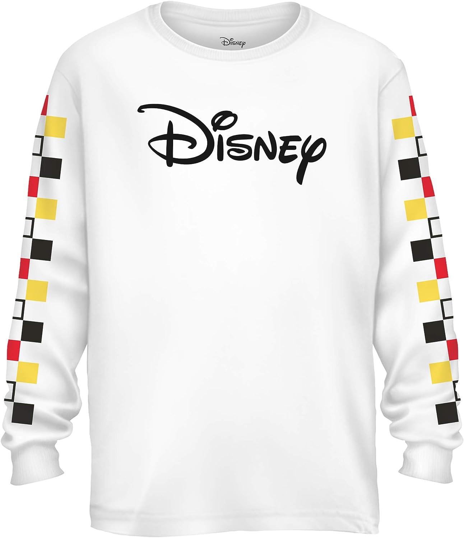Disney Logo T-Shirt /À Manches Longues Femme