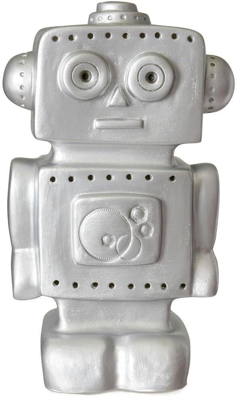 Roboter – Lampe Lampe Lampe Stellen Nachtlicht LED Roboter silber H38 cm – Lichterkette und Artikel beleuchtet Egmont Toys G80590 gaëtane Lannoy B072M2RT19 | Authentische Garantie  df6314
