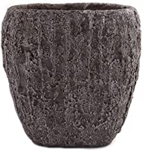 Little Green House Cement Brown Vase - Small