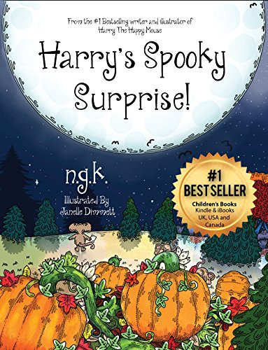 Harry's Spooky Surprise! (Harry The Happy Mouse Book 3) (English Edition)