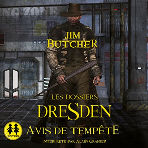Avis de tempête audiobook cover art