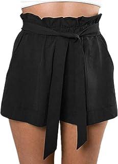 economico per lo sconto ca0d2 e7035 Amazon.it: Pantaloncini Vita Alta