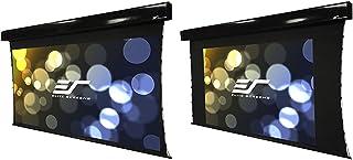 "Elite Screens Vmax Tab-Tension Dual, 97"" 2.35:1/78"" 16:9, Dual Format Wall/Ceiling Motorized Cinema Projector Screen, VMAX..."