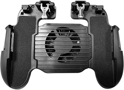 SODIAL Phone Game H5 Cooler Cooling Fan Gamepad Controller Fire Hand Grip For Pubg
