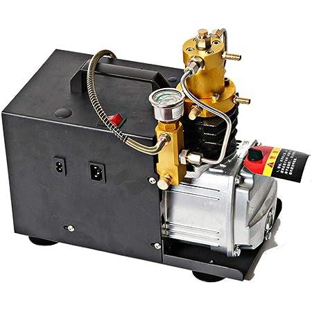 Hochdruck Druckluftpumpe Elektrischer Luftkompressor Pcp Luftpumpe Mit Leuchtmanometer Für Normale Auto Und Fahrradreifen 300bar 30mpa 4500psi 220v 1800w Baumarkt