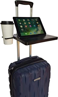 Go Desk - Portable Work Surface that Attaches to Luggage, Black