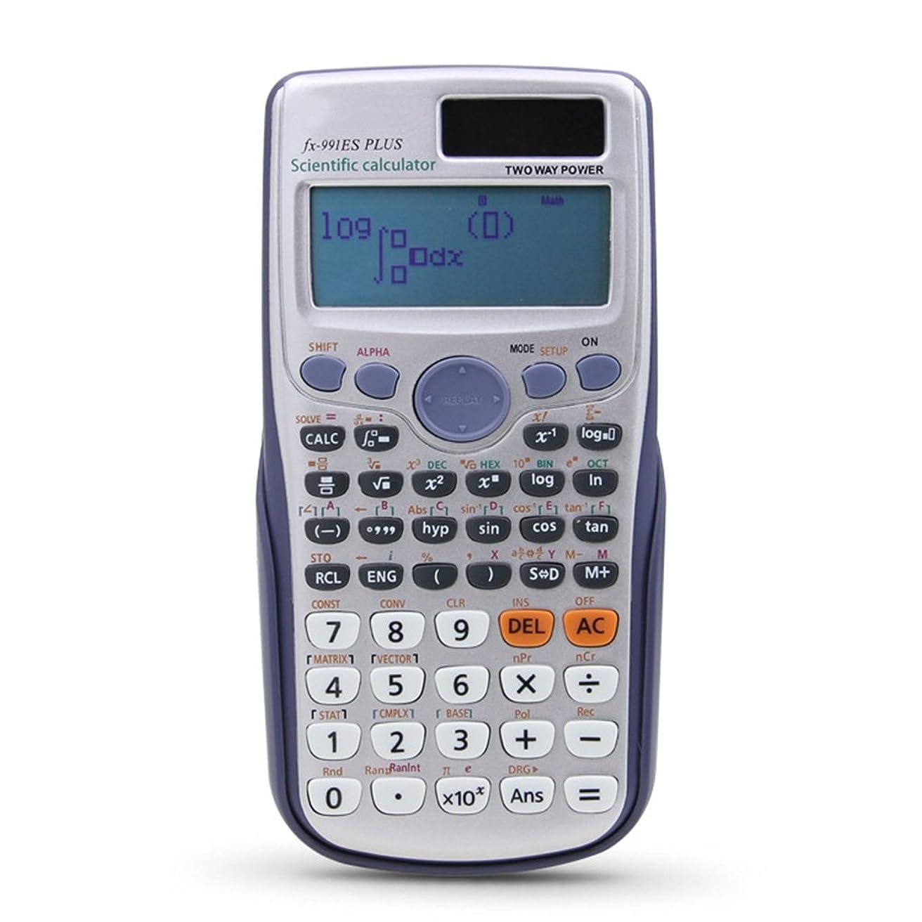 宿題をするどこでも刺すPinshang学生関数電卓Scientificマトリックス複雑な解決先生と生徒の方程式