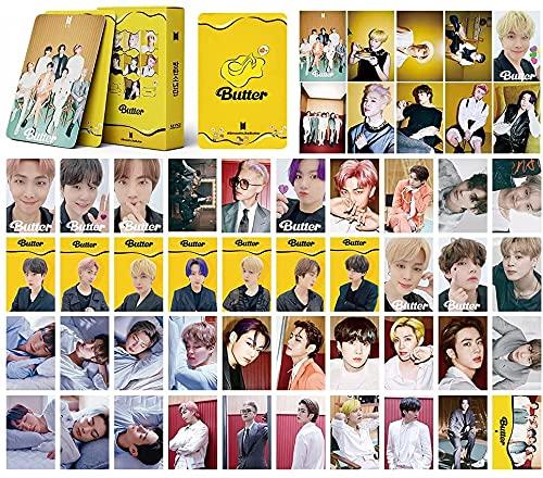 BTS Butter LOMOカード 防弾少年団 PHOTO CARD SET メンバー選択 - LOMO CARD『2021年・新品参上!』 防弾少年団 トレカ フォトカードセット 写真集 ポスター54枚セット ポストカード ニューアルバム KPOP 人