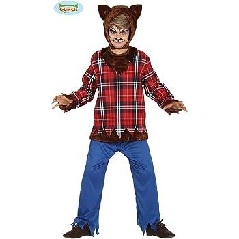 Niño Disfraz Hombre Lobo Gris: Amazon.es: Juguetes y juegos