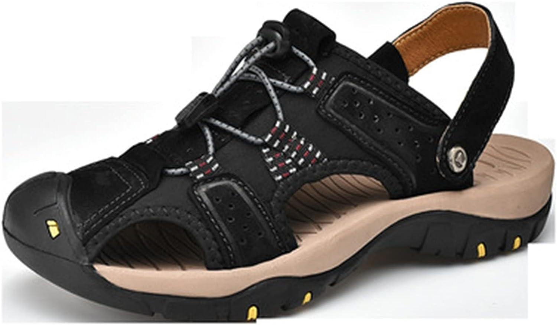 generetic Men's Walking Sandals Closed Beach Summer Toe Regular store Max 49% OFF